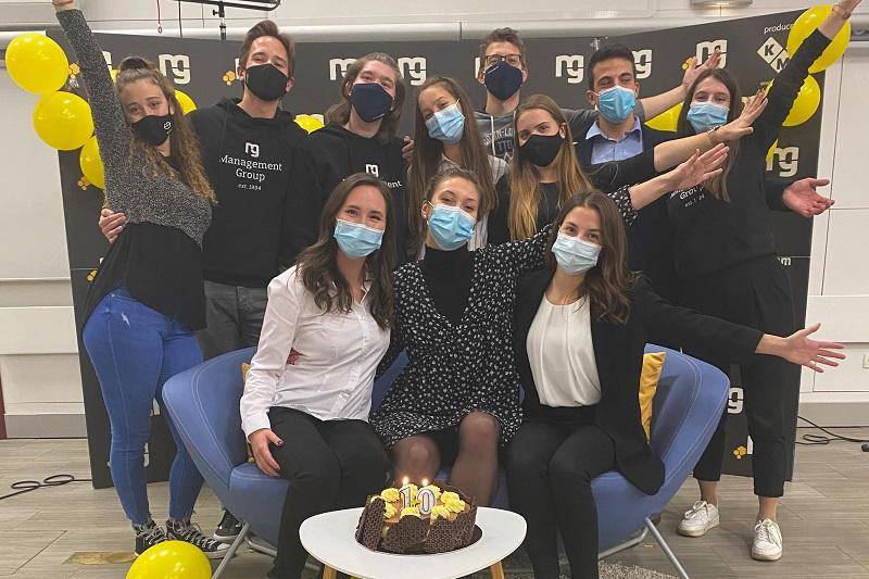 Business Hive 2021 organizacijska ekipa